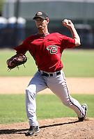 Tom Layne / Arizona Diamondbacks 2008 Instructional League..Photo by:  Bill Mitchell/Four Seam Images