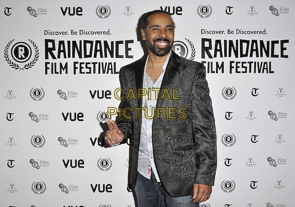LONDON, ENGLAND - SEPTEMBER 28: Lawrence &quot;Boo&quot; Mitchell attends the &quot;Take Me To The River&quot; UK film premiere, Raindance film festival, Vue Piccadilly cinema, Lower Regent St., on Sunday September 28, 2014 in London, England, UK. <br /> CAP/CAN<br /> &copy;Can Nguyen/Capital Pictures