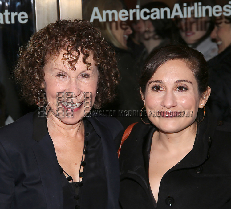 "Rhea Perlman and Lucy Devito attend the Broadway Opening Night performance of Roundabout Theatre Production  of ""The Price"" at the American Airlines TheatreTheatre on March 16, 2017 in New York City."