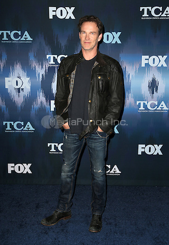 Pasadena, CA - JANUARY 11: Stephen Moyer, At 2017 Winter TCA Tour - FOX All-Star Party, At Langham Hotel In California on January 11, 2017. Credit: Faye Sadou/MediaPunch