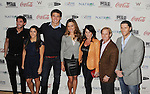 LOS ANGELES {CA} - JANUARY 12:  Evan Lysacek, Aly Raisman, Nathan Adrian, Natalie Coughlin, Nadia Comaneci and Lenny Krayzelburg attend  the Gold Meets Gold Event, held at the Equinox Sports Club Flagship West Los Angeles location on Saturday, January 12, 2013 in Los Angeles, California.