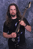 POMPANO BEACH FL - MARCH 04: John Petrucci of Dream Theater poses for a portrait at The Pompano Beach Amphitheater on March 4, 2000 in Pompano Beach, Florida. Photo by Larry Marano © 2000