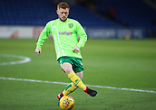 1st December 2017, Cardiff City Stadium, Cardiff, Wales; EFL Championship Football, Cardiff City versus Norwich City; Harrison Reed of Norwich City warming up