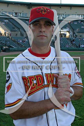 August 26, 2003:  Bryan Kennedy of the Rochester Red Wings during a game at Frontier Field in Rochester, New York.  Photo by:  Mike Janes/Four Seam Images