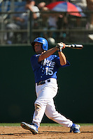 March 28 2009: Tony Nix of the UC Riverside Highlanders during game against the CS Fullerton Titans at Riverside Sports Complex in Riverside,CA.  Photo by Larry Goren/Four Seam Images