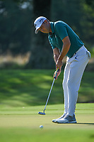 Sergio Garcia (ESP) watches his putt on 1 during round 4 of the WGC FedEx St. Jude Invitational, TPC Southwind, Memphis, Tennessee, USA. 7/28/2019.<br /> Picture Ken Murray / Golffile.ie<br /> <br /> All photo usage must carry mandatory copyright credit (© Golffile | Ken Murray)