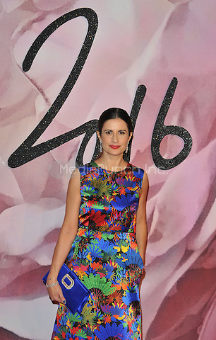 Livia Giuggioli (  Firth ) at the Fashion Awards 2016, Royal Albert Hall, Kensington Gore, London, England, UK, on Monday 05 December 2016. <br /> CAP/CAN<br /> &copy;CAN/Capital Pictures /MediaPunch ***NORTH AND SOUTH AMERICAS ONLY***