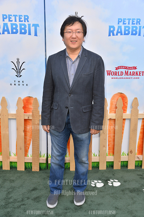 Masi Oka at the world premiere for &quot;Peter Rabbit&quot; at The Grove, Los Angeles, USA 03 Feb. 2018<br /> Picture: Paul Smith/Featureflash/SilverHub 0208 004 5359 sales@silverhubmedia.com