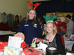 Laura Corrigan and Fiona Lee-Gargan from Drogheda Animal Rescue pictured at the christmas craft fair in Clogherhead community hall. Photo:Colin Bell/pressphotos.ie