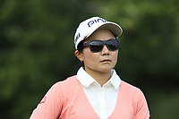 Ayako Uehara (JPN) on the 5th tee during Friday's Round 2 of The Evian Championship 2018, held at the Evian Resort Golf Club, Evian-les-Bains, France. 14th September 2018.<br /> Picture: Eoin Clarke | Golffile<br /> <br /> <br /> All photos usage must carry mandatory copyright credit (&copy; Golffile | Eoin Clarke)