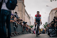 Lux Champ Bob Jungels (LUX/Quick Step Floors) at the Team presentation in La Roche-sur-Yon<br /> <br /> Le Grand D&eacute;part 2018<br /> 105th Tour de France 2018<br /> &copy;kramon