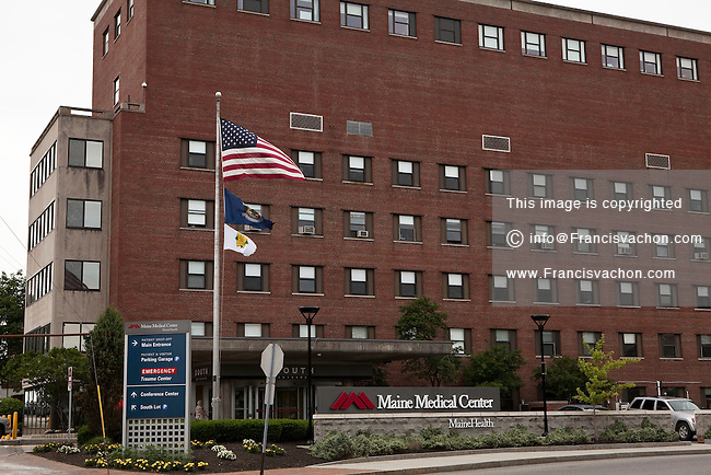 Maine Medical Center in Portland, Maine   Stock photos by