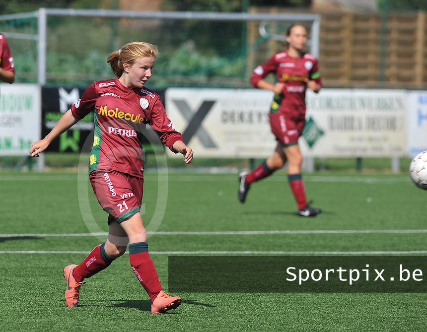 Dames Zulte - Waregem : Julie Devos.foto DAVID CATRY  / Vrouwenteam.be.