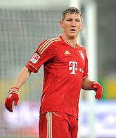 FUSSBALL   1. BUNDESLIGA  SAISON 2011/2012   18.  Spieltag   20.01.2012 Borussia Moenchengladbach   - FC Bayern Muenchen  Bastian Schweinsteiger (FC Bayern Muenchen)