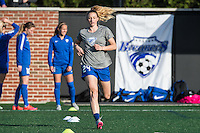 Allston, MA - Sunday, April 24, 2016: Boston Breakers defender Rachel Wood (24). The Boston Breakers play Seattle Reign during a regular season NSWL match at Harvard University.