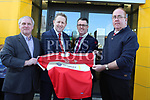 Blackstone Motors are the New Sponsors for Louth Ladies Teams.<br /> <br /> Photo: Jenny Matthews