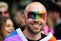 PRESS PHOTOGRAPHY Pride Parade in Cardiff, Wales, UK