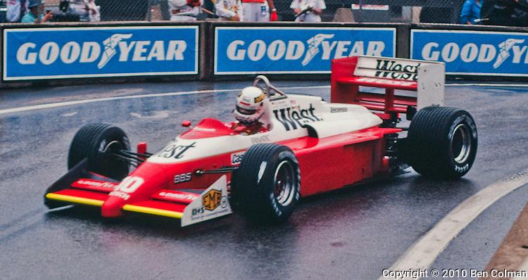 Christian Danner, Zakspeed B71, Detroit 1987