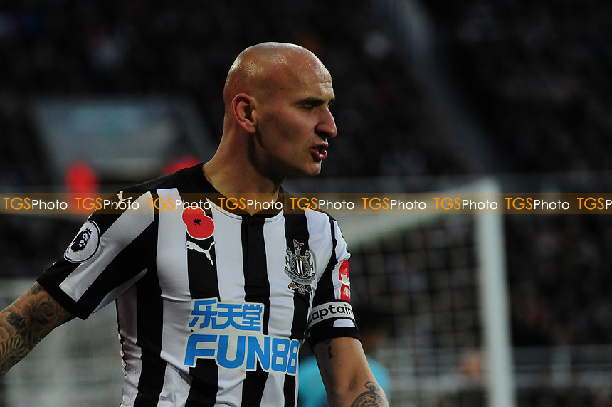 A frustrated Jonjo Shelvey of Newcastle United during Newcastle United vs AFC Bournemouth, Premier League Football at St. James' Park on 4th November 2017