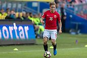 June 1th 2017, Ullevaal Stadion, Oslo, Norway; International Football Friendly 2018 football, Norway versus Sweden; Jonas Svensson of Norway in action