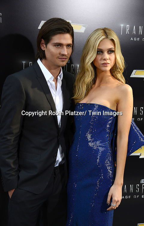"Will Peltz and sister Nicola Peltz attends the US Premiere of ""Transformers: Age of Extinction"" on June 25, 2014 at The Ziegfeld Theatre in New York City, New York, USA."