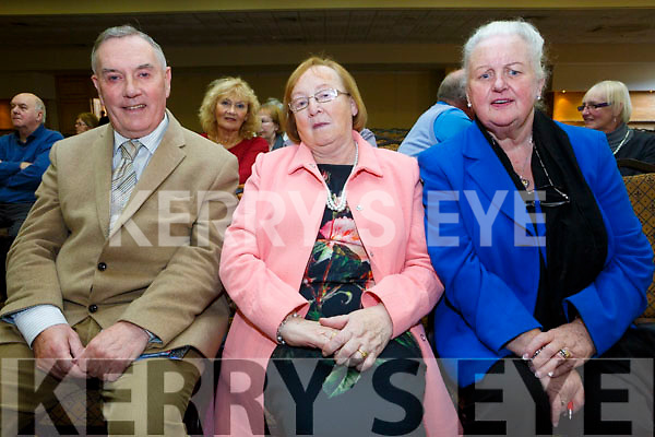 At RTE's Live line with  Joe Duffy, funny Friday at the Brandon Hotel on Friday were Pat Griffin, Lucy Stokes,  Mary Anne McEnery