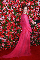 NEW YORK, NY - JUNE 10: Laura Osnes  at the 72nd Annual Tony Awards at Radio City Music Hall in New York City on June 10, 2018.