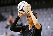 13th September 2017, Hamilton, New Zealand;  New Zealand shooter Maria Tutaia practices ahead of the Taini Jamison Trophy international netball match - Silver Ferns versus  England played at Claudelands Arena, Hamilton, New Zealand on Wednesday 13 September 2017