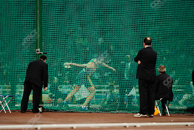 Discus throw, men, Summer Olympics, Athens Greece, August 28, 2004.
