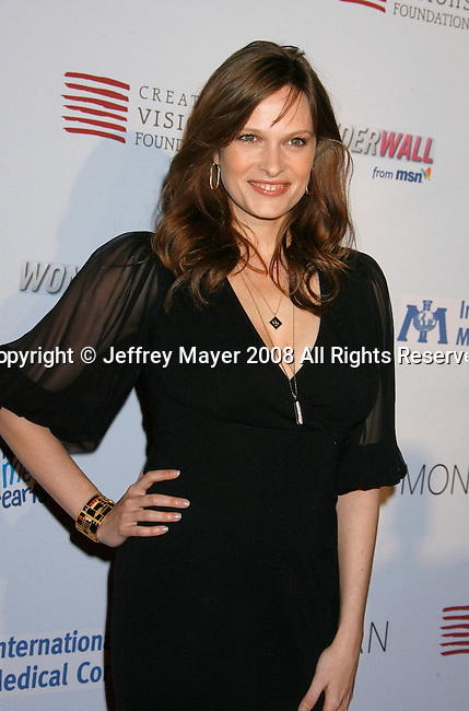WEST HOLLYWOOD, CA. - February 18: Actress Vinessa Shaw arrives at the Children Mending Hearts Gala at the House Of Blues on February 18, 2009 in Los Angeles, California.
