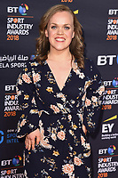 Ellie Simmonds arriving for the BT Sport Industry Awards 2018 at the Battersea Evolution, London, UK. <br /> 26 April  2018<br /> Picture: Steve Vas/Featureflash/SilverHub 0208 004 5359 sales@silverhubmedia.com