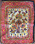 ANTIQUE TEXTILE EMBROIDERY DOWRY POUCH BAG