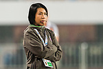 Coach Chan Yuen Ting of Eastern SC reacts during their AFC Champions League 2017 Match Day 1 Group G match between Guangzhou Evergrande FC (CHN) and Eastern SC (HKG) at the Tianhe Stadium on 22 February 2017 in Guangzhou, China. Photo by Victor Fraile / Power Sport Images