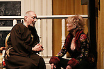 """Charles E. Gerber (Tartuffe) & As The World Turns Ellen Dolan star in Moliere's """"Tartuffe"""" from Jan. 13 to Jan 29 at the WorkShop Theatre, New York City, New York. Photos on costume were taken on January 9, 2011. (Photo by Sue Coflin/Max Photos)"""