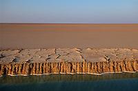 Salzgewinnung im Schott el Djerid, Tunesien