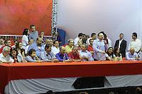 SAO PAULO, SP, 14.09.2013 - PT / ENCONTRO REGIAO METROPOLITANA - <br />  Grande Encontro da Regi&atilde;o Metropolitana do PT estadual de S&atilde;o Paulo, na Quadra dos Banc&aacute;rios, na capital paulista, neste sabado, 14. (Foto: Vanessa Carvalho / Brazil Photo Press).