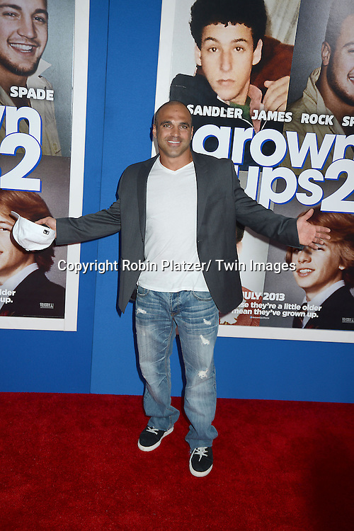 """Joe Gorga attends the Special Screening of """"Grown Ups 2"""" on July 10, 2013 at AMC Lincoln Square in New York City. The film stars Adam Sandler, Chris Rock, Kevin James, David Spade, Salma Hayek and Shaquille O' Neal."""