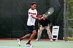 CHAPEL HILL, NC - MAY 12: South Carolina's Paul Jubb (ENG). The University of South Carolina Gamecocks played the East Tennessee State University Buccaneers on May 12, 2017, at The Cone-Kenfield Tennis Center in Chapel Hill, NC in an NCAA Division I Men's College Tennis Tournament first round match. South Carolina won 5-0.