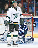 Colton Fretter - The University of Maine Black Bears defeated the Michigan State University Spartans 5-4 on Sunday, March 26, 2006, in the NCAA East Regional Final at the Pepsi Arena in Albany, New York.