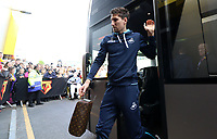 Federico Fernandez of Swansea City arrives at Vicarage Road Stadium prior to kick off of the Premier League match between Watford and Swansea City at Vicarage Road Stadium, Watford, England, UK. Saturday 15 April 2017