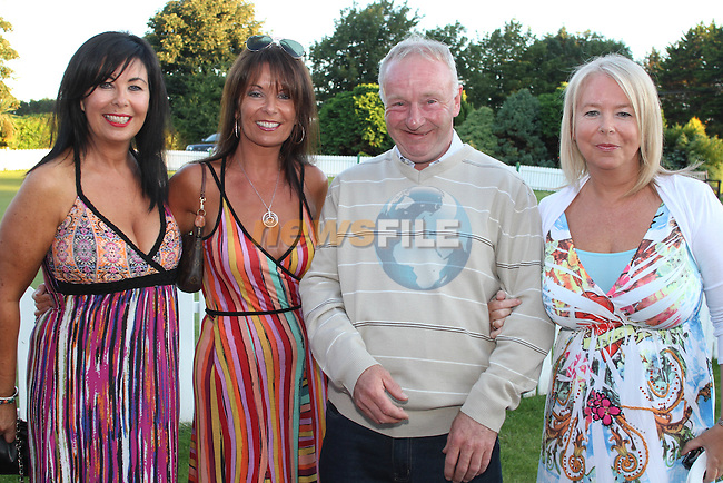 Patricia, Helen and Carmel O'Shea with Frank Sheridan at the Baltray and District Residents Association Gala Dinner Dance in Co.Louth Golf Club...Picture Jenny Matthews/Newsfile.ie