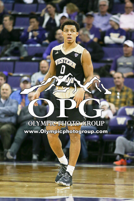 SEATTLE, WA - DECEMBER 18: Western Michigan's Brandon Lamont against Washington.  Washington won 92-86 over Western Michigan at Alaska Airlines Arena in Seattle, WA.