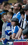 Huddersfield Town fans watch the game during the premier league match at the John Smith's Stadium, Huddersfield. Picture date 20th August 2017. Picture credit should read: Simon Bellis/Sportimage