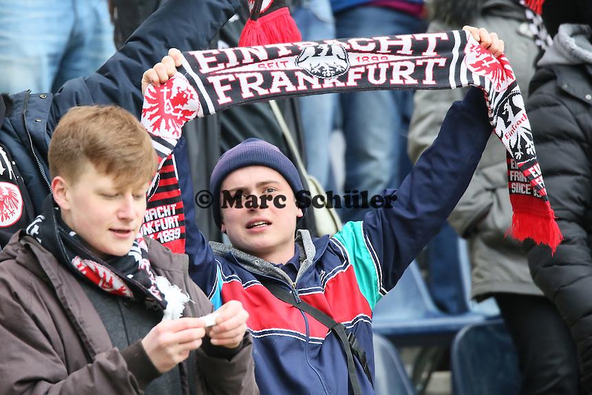Fans von Eintracht Frankfurt - Eintracht Frankfurt vs. SC Paderborn 07, Commerzbank Arena