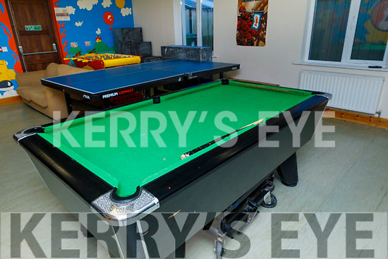 Pool table in the Shanakill Family Resource Centre