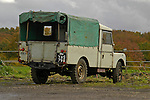 1950's Land Rover Series One 107 Pick Up, Dunsfold, UK, 2004. --- No releases available. Automotive trademarks are the property of the trademark holder, authorization may be needed for some uses.
