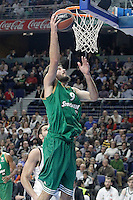Panathinaikos Athens' Antonis Fotsis during Euroleague match.January 22,2015. (ALTERPHOTOS/Acero) /NortePhoto<br />