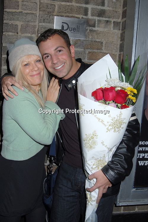 """Ilene Kristen and Anthony Wilkinson, writer of the show..at The Opening of the Play """"Boys Just Wanna Have Fun""""..written by Anthony Wilkinson on March 2, 2007 at The Actors Playhouse Theatre. ..Robin Platzer, Twin Images"""