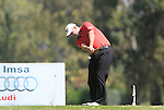 Kenneth Ferrie (ENG) tees off on the 3rd tee during the Final Day Sunday of the Open de Andalucia de Golf at Parador Golf Club Malaga 27th March 2011. (Photo Eoin Clarke/Golffile 2011)