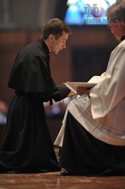 C.S.C. final vows Mass at the Basilica..Photo by Matt Cashore/University of Notre Dame